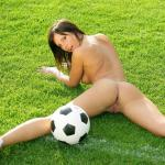 Voetbal chick